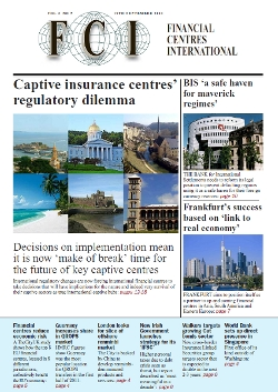 September 2011 Issue of Financial Centres International